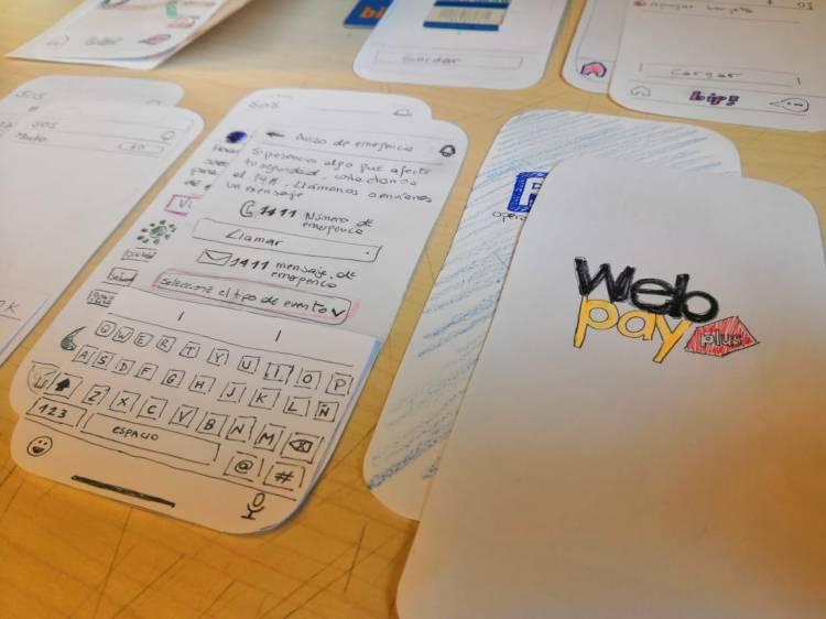 prototipo papel app